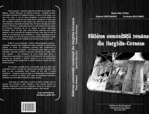Slăbirea comunităţii româneşti din Harghita-Covasna: raport de cercetare