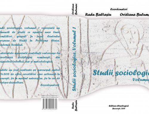 Studii sociologice vol I